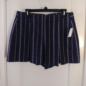 Gap Navy Striped Shorts